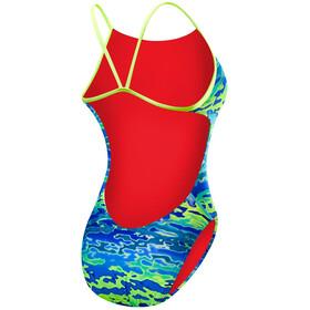 TYR Serenity Cutoutft Bathing Suit Women Blue/Green